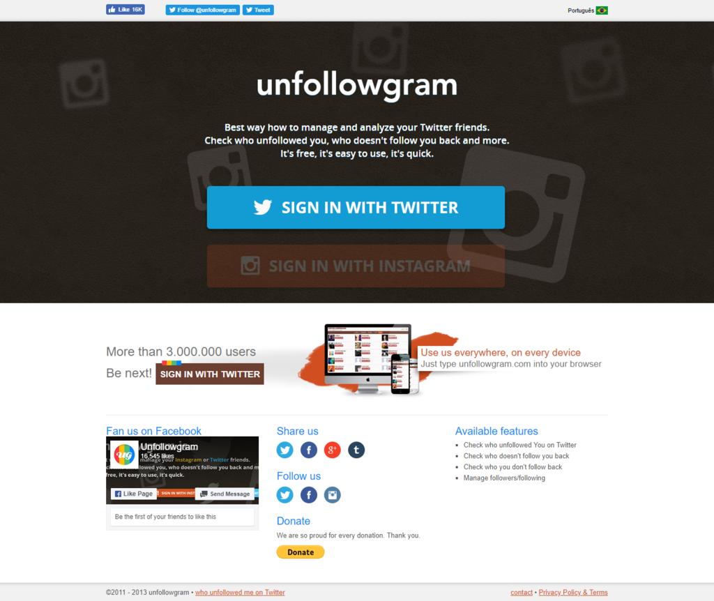 unfollowgram.com