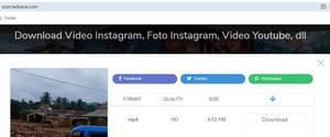Share file video dari instagram melalui sosmedsave