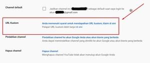 Gambar cara mengganti url youtube di android dan laptop