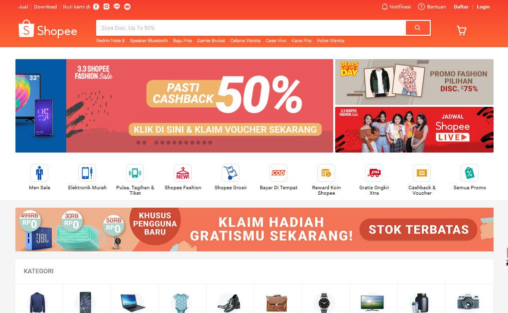 Gambar 2 - Platform yang bisa digunakan untuk jualan online tanpa modal dan stok barang