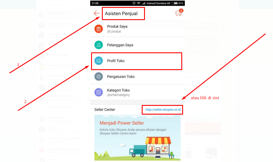 Gambar Alternatif cara ganti username shopee - ubah nama toko saja