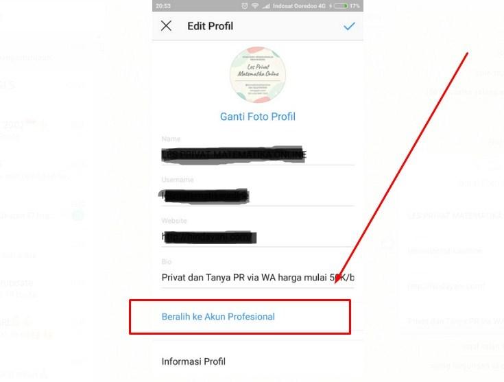 Cara Mengaktifkan Insight Instagram