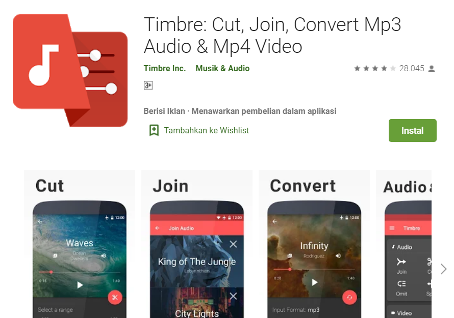 Aplikasi Edit Suara Video iPhone dan Android