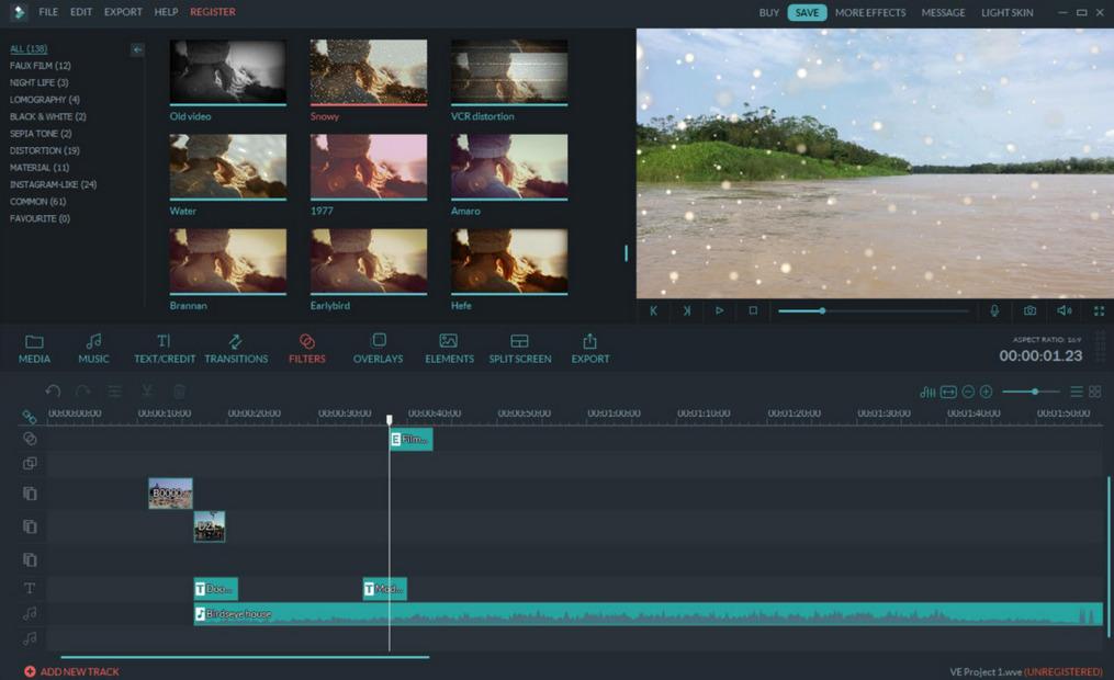 Gambar Aplikasi edit video PC ringan