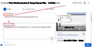 Gambar Cara Upload Video ke Youtube Lewat Laptop
