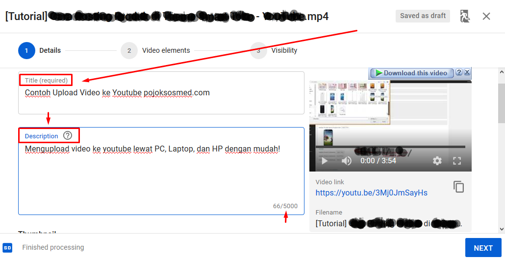 Cara Upload Video ke Youtube Lewat Laptop