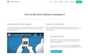 Gambar 2 - Cara menambah like instagram gratis lewat situs dan aplikasi