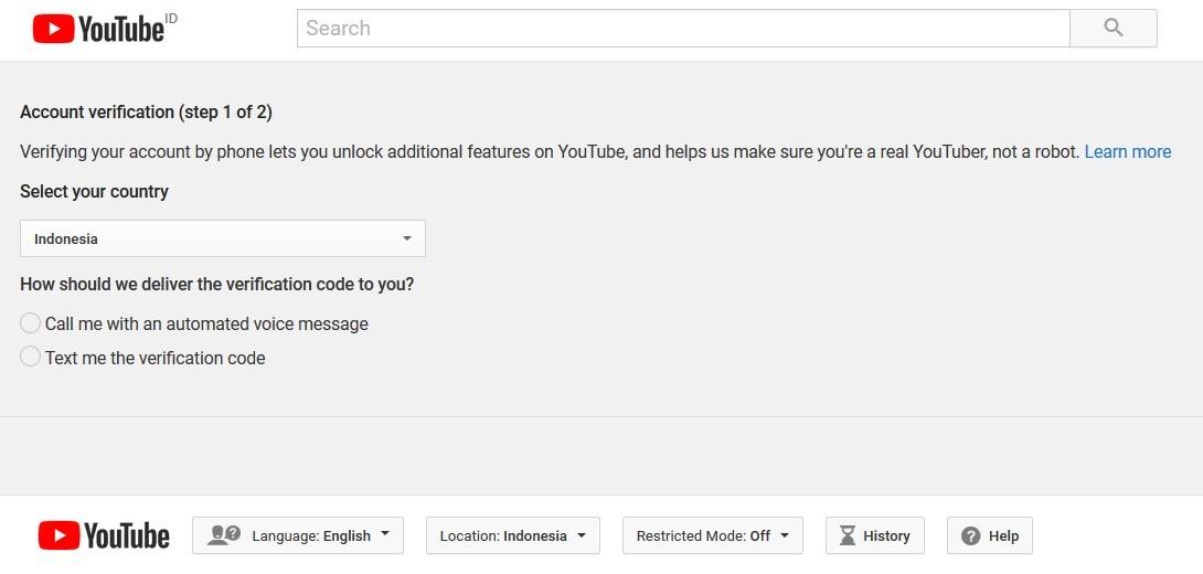 Cara mengaktifkan thumbnail custom youtube