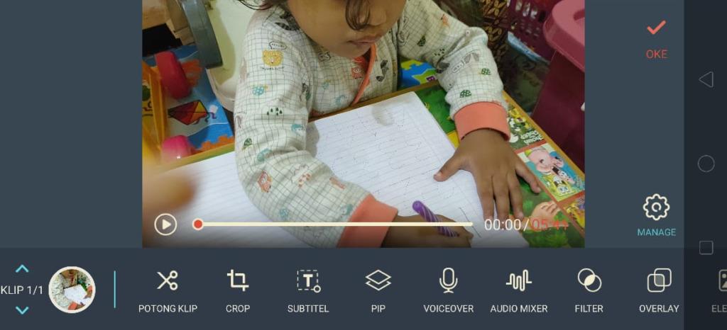 Gambar 1 - Cara edit video youtube pakai HP