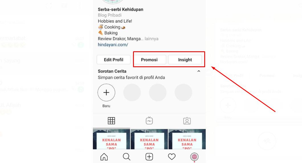Fitur instagram bisnis