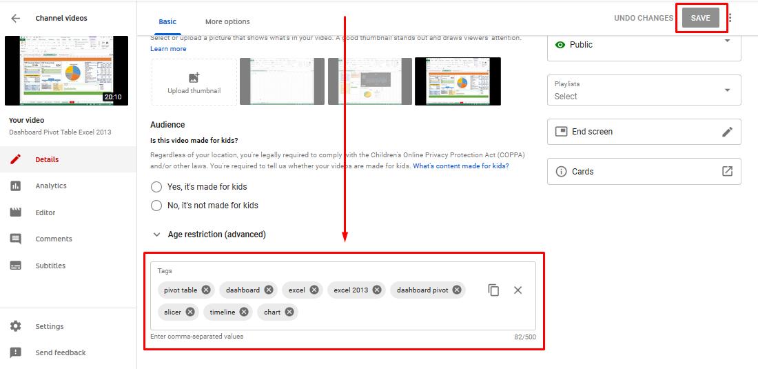 Gambar 3 - Cara memasukkan atau mengganti tag