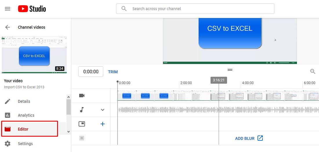 Cara mengedit video tanpa aplikasi