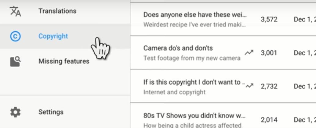 Cara mengetahui video kita di reupload