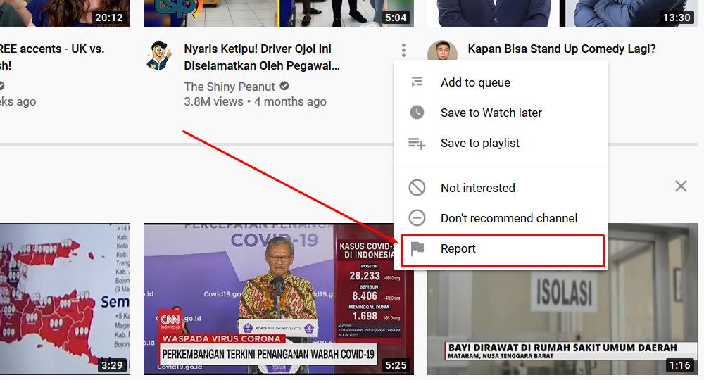 Gambar 3 - Cara menghapus video di youtube orang lain (konten duplikat)