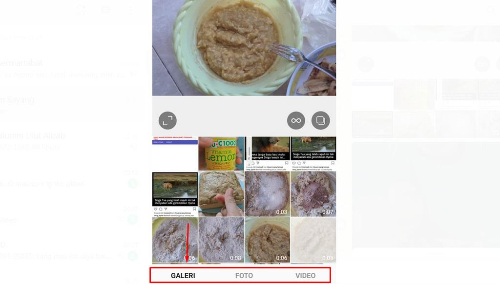 Gambar 1 - Cara upload full video di instagram dengan durasi 60 detik