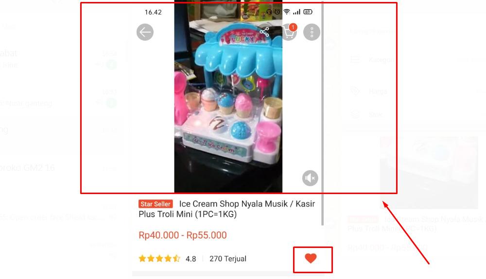 Gambar 3 - Cara jualan di Shopee pakai video bisa bikin penjualan meningkat