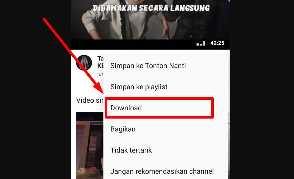 Gambar 2 - Cara menghilangkan iklan di youtube android tanpa aplikasi