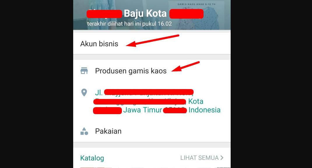 Gambar 1 - Tentang WhatsApp Bisnis