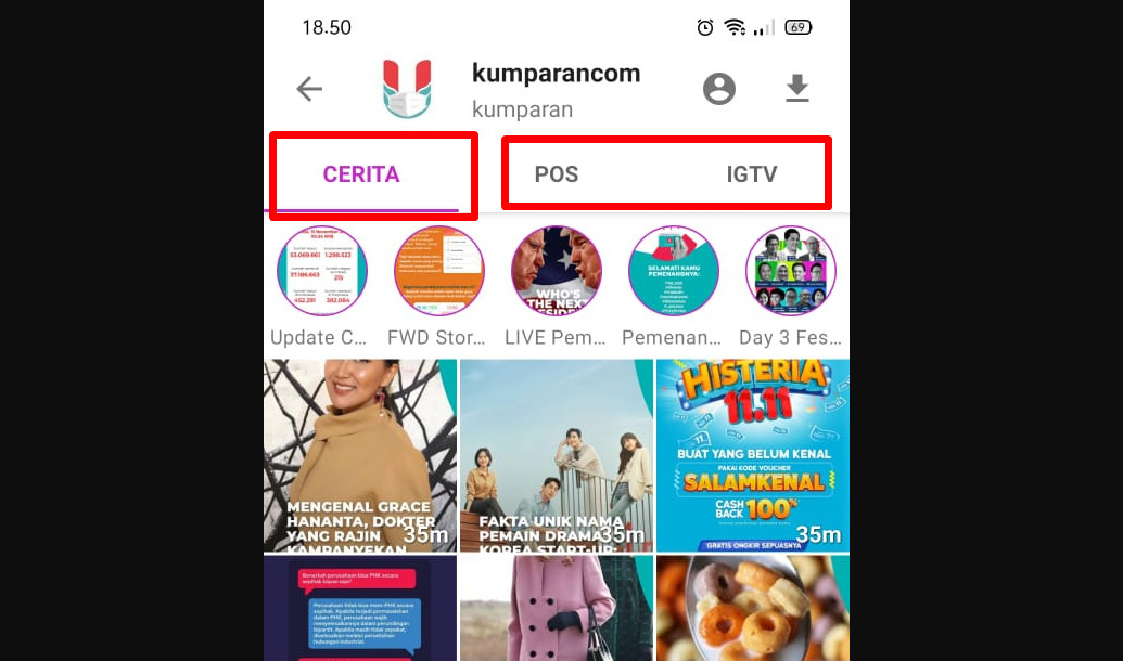 Cara melihat story instagram tanpa diketahui pemiliknya pakai aplikasi - Story Saver for Instagram