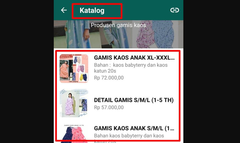 Fitur spesial WhatsApp bisnis yang tidak ada di WA messenger - Katalog