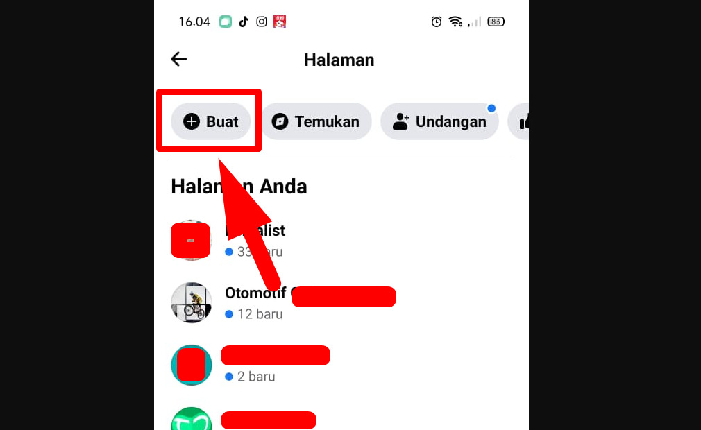 Cara membuat fanspage facebook di android (HP)