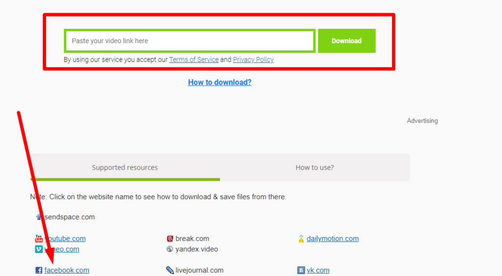 Gambar 3 - Free download online facebook video downloader