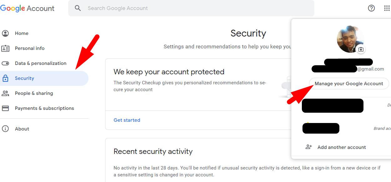 Cara mengganti password gmail yang lupa dari PC