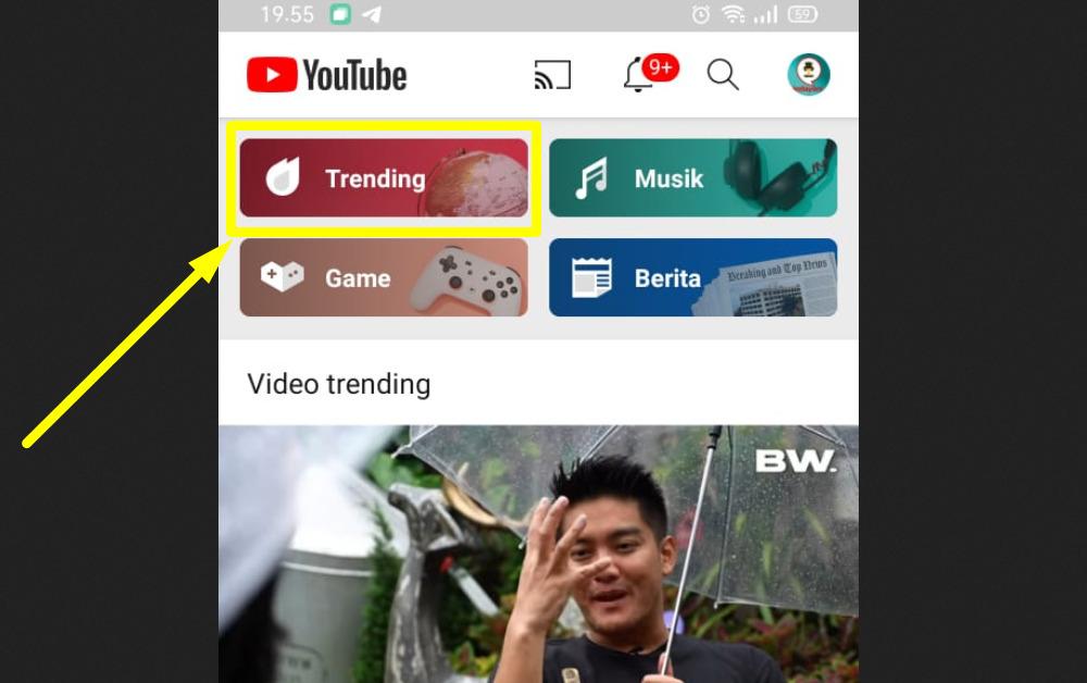 Cara mengetahui kata kunci Youtube yang paling banyak dicari - Fitur Trending Youtube