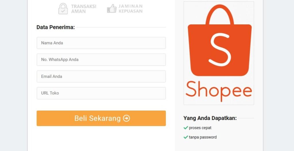 Cara mudah membeli pengikut dari jasa tambah follower Shopee