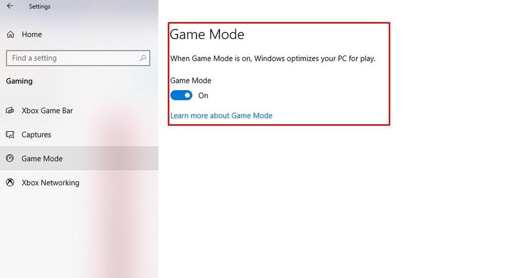 Cara merekam layar laptop Windows 10 - Aktivasi fitur game bar - Game Mode